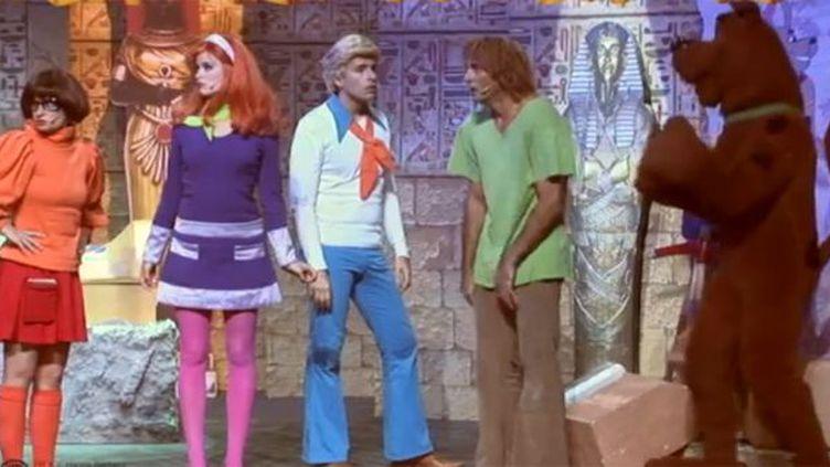 Véra, Daphné, Fred, Sammy et Scooby Doo !  (Droits réservés)