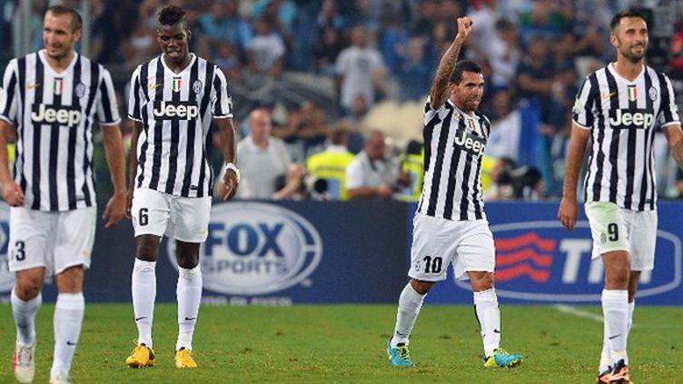 La joie des joueurs de la Juventus