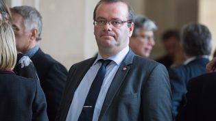 Olivier Damaisin, député La République en marche du Lot-et-Garonne, à l'Assemblée nationale le 14 novembre 2017. (CHRISTOPHE MORIN / MAXPPP)