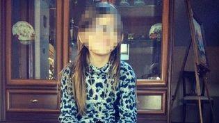 """Photo de la petite Berenyss, 7 ans, diffusée par le ministère de l'Intérieur au moment de l'""""Alerte enlèvement"""", le 23 avril 2015. (POLICE JUDICIAIRE / AFP / FRANCETV INFO)"""