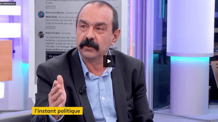 Philippe Martinez (FRANCEINFO)