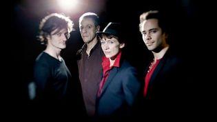 Édouard Ferlet, Jean-Philippe Viret, Nancy Huston et Fabrice Moreau, les protagonistes du « Mâle entendu »  (Eric Garault)