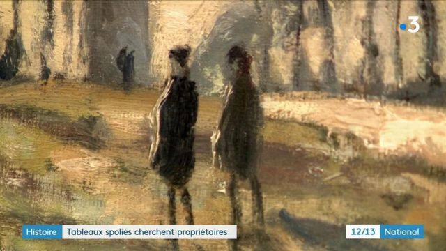 Histoire : tableaux volés cherchent propriétaires