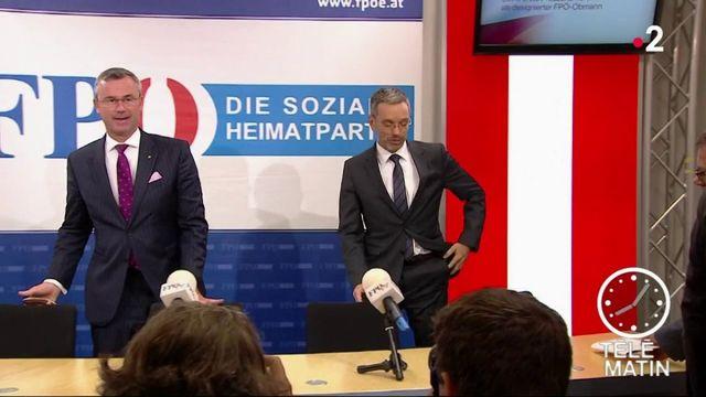 Autriche : les ministres d'extrême droite quittent le gouvernement
