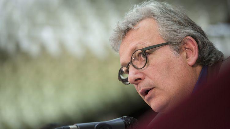 Pierre Laurent, le secrétaire national du parti communiste français, le 2 mars 2015. (  MAXPPP)