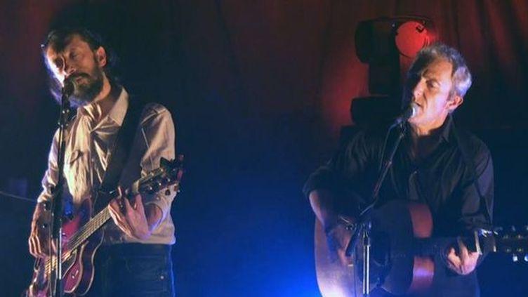 Les Innocents en concert à Rennes en 2013.  (https://www.facebook.com/lesinnos)