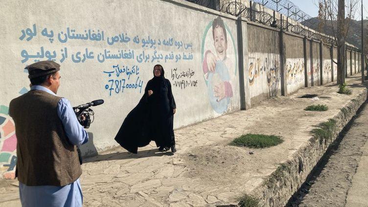 Dans les rues de Kaboul. (VINCENT SOURIAU / RFI)