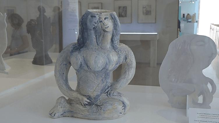 Marc Chagall, Scultures. Exposition au Musée Marc Chagall à Nice  (France 3 )
