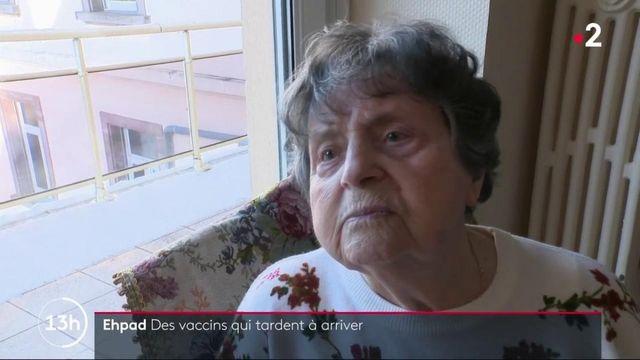 Vaccin contre le Covid-19 : certains Ehpad toujours en attente de leur livraison