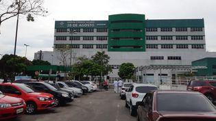 Un des 24 hôpitaux de Manaus, au Brésil, le 14 avril 2021. Face au variant brésilien du coronavirus, le système de santé local s'est retrouvé dépassé. (GILLES GALLINARO / RADIO FRANCE)