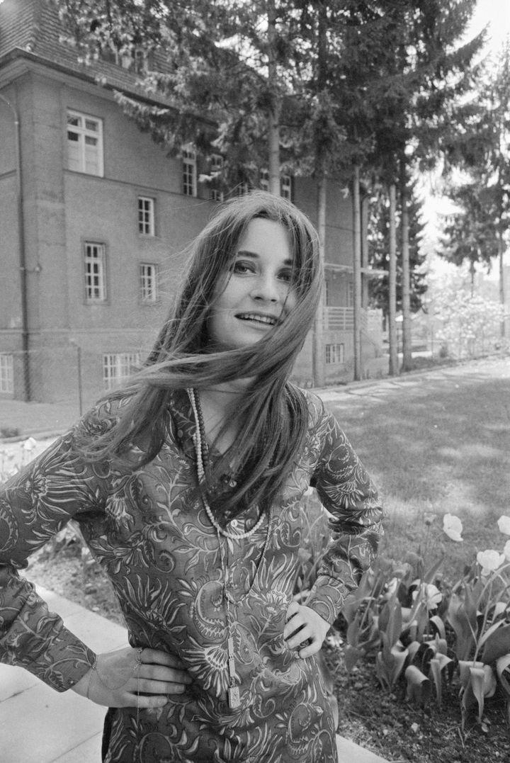 L'écrivaine autrichienne Elfriede Jelinek en 1969 (OTTO BREICHA / IMAGNO)