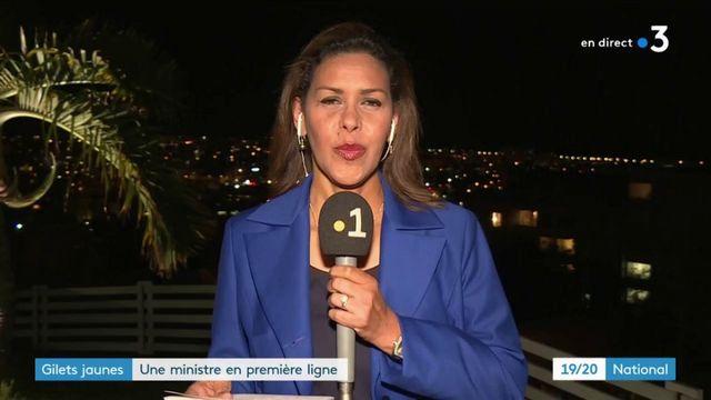 """La Réunion : Annick Girardin en première ligne face aux """"gilets jaunes"""""""