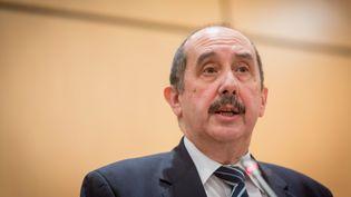 Le président du Conseil de l'ordre des médecins, Patrick Bouet, le 26 janvier 2015 à Paris. (GARO / PHANIE / AFP)