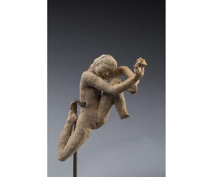Auguste Rodin, Mouvement de danse, terre cuite (© agence photographique du musée Rodin - Jérome Manoukian)