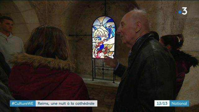Culture : une nuit à la cathédrale de Reims