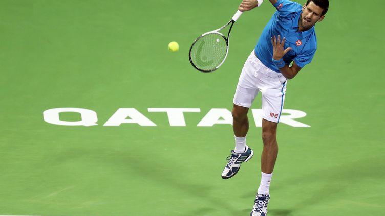 Novak Djokovic (KARIM JAAFAR / AFP)
