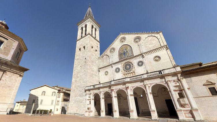 La cathédrale de Spolète, en Ombrie (Italie). (GOOGLE STREET VIEW)