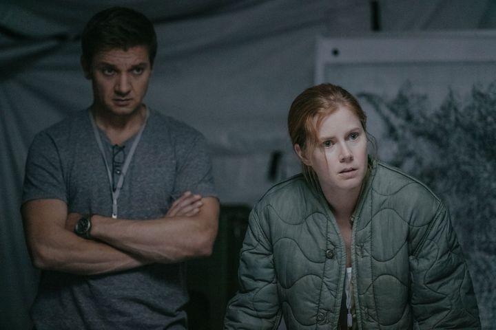 """Jeremy Renner et Amy Adams dans """"Premier contact"""" de Denis Villeneuve  (Sony Pictures Releasing France)"""