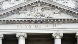 Le palais de Justice de Strasbourg (Bas-Rhin), le 14 mars 2018. (GODONG/AFP)