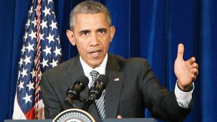 Le président américain Barack Obama, le 22 novembre 2015 à Kuala Lumpur (Malaisie). (NEWSCOM / SIPA / SIPA USA)