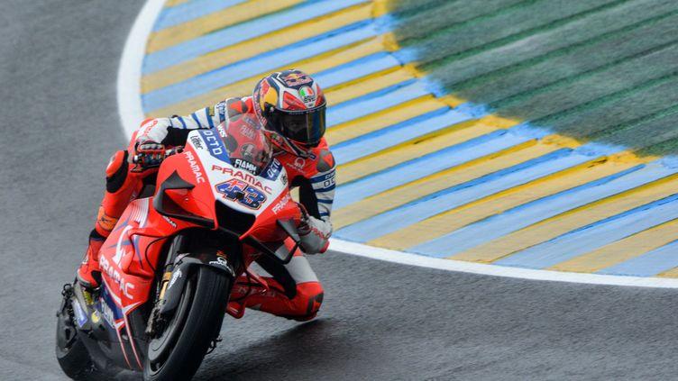 L'Australien Jack Miller (Ducati Pramac) a dominé les essais libres 3 (JEAN-FRANCOIS MONIER / AFP)