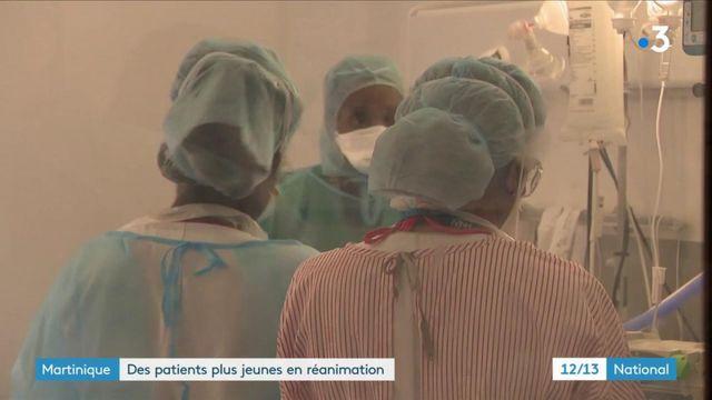 Martinique : afflux important de jeunes patients Covid en réanimation, le CHU sous tension