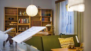 L'intérieur du musée Ikea à Almhult (Suède), le 14 juin 2016. (EMIL LANGVAD / TT NEWS AGENCY / AFP)