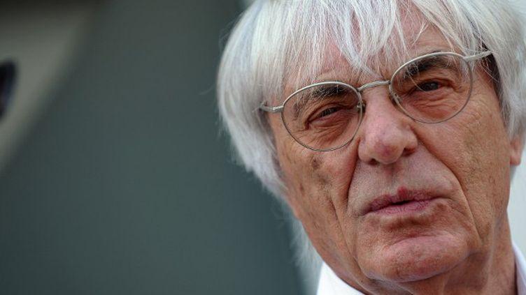 Bernie Ecclestone.  (SAEED KHAN / AFP)