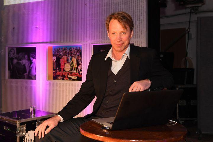 Giles Martin, ingénieur du son et producteur, comme son pèreGeorge Martin  (Carsten Windhorst / FRPAP.com)