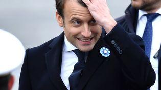 Le président élu, Emmanuel Macron, le 8 mai 2017, à Paris. (MUSTAFA YALCIN / ANADOLU AGENCY / AFP)