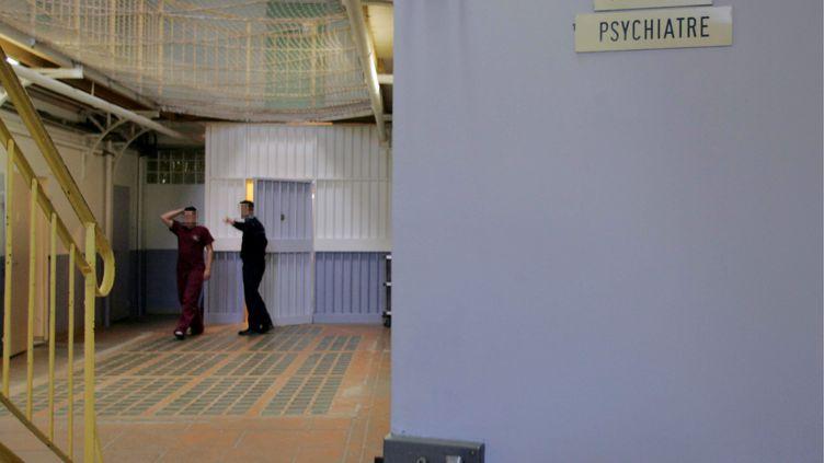 Certaines expertises psychiatriques sont réalisées en prison (ici, à Rennes). (AUDUREAU AURELIE / LE PARISIEN / MAXPPP)