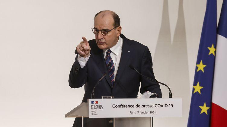 Le Premier ministre Jean Castex. (LUDOVIC MARIN / POOL)