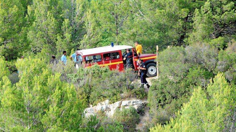 Un adolescent s'est noyé, le 28 juillet 2012, dans un lac interdit à la baignade, dans l'Aude. (FRANCOISE TALLIEU / MAXPPP)