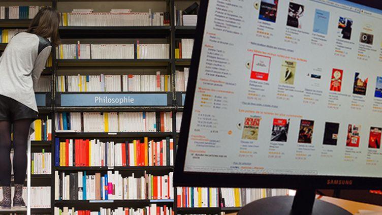 Les libraires ont du mal à contrer l'hégémonie d'Amazon  (Culturebox avec Serge Pouzet/SIPA)