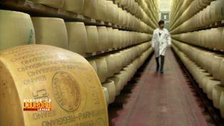 """La bataille du """"parmigiano reggiano"""", l'authentique parmesan italien (FRANCE 3)"""