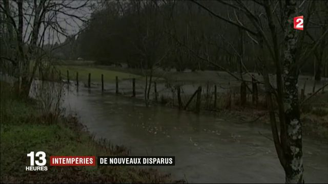 Intempéries : plusieurs disparitions dans l'est de la France