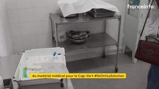 Une association d'Amiens récupère du matériel médical destiné à la poubelle et espère les envoyer au Cap Vert