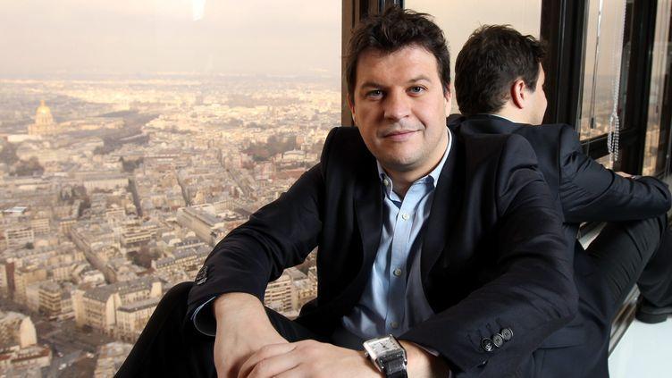 Guillaume Musso, l'auteur aux 28 millions d'exemplaires vendus.  (PHOTOPQR/LE PARISIEN/JEAN-BAPTISTE QUENTIN )