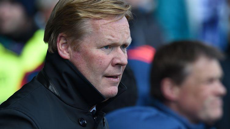 Le coach néerlandais Ronald Koeman (PAUL ELLIS / AFP)