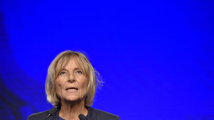 Marielle de Sarnez, le 25 septembre 2016 à Guidel (Morbihan). (LOIC VENANCE / AFP)