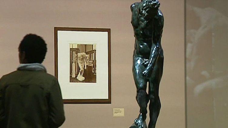 Les clichés d'Emmanuel Berryen miroir des sculptures de Rodin au musée des Beaux-Arts d'Orléans   (Musée de Rodin (Paris) / Capture d'image Culturebox)