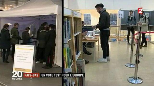 Pays-Bas : un vote test pour l'Europe