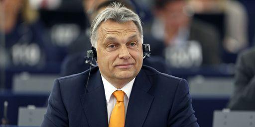 Viktor Orban au Parlement européen à Strasbourg le 19 mai 2015 (REUTERS - Vincent Kessler)