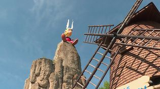 Le Parc Astérixrouvre ses portes au public mercredi 9 juin. (CAPTURE ECRAN FRANCE 3)