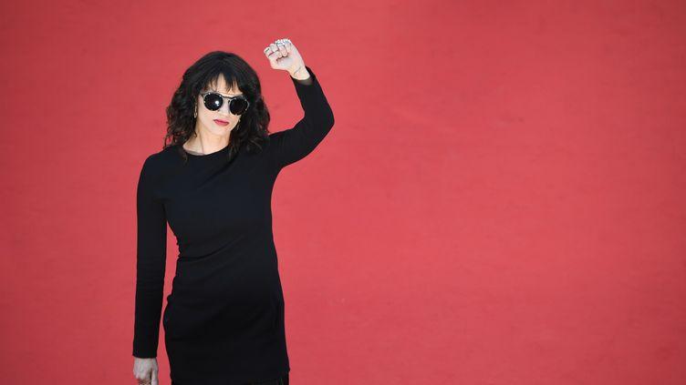 L'actrice Asia Argento, le 19 mai 2018 au Festival de Cannes. (ANTONIN THUILLIER / AFP)