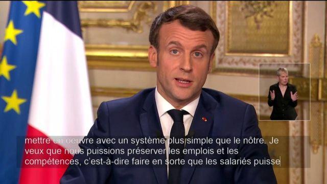 Emmanuel Macron annonce des mesures en faveur des entreprises et des salariés