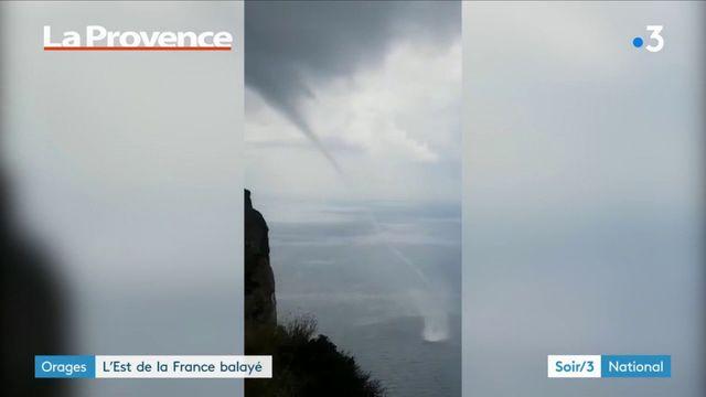 Orages : l'est de la France balayé