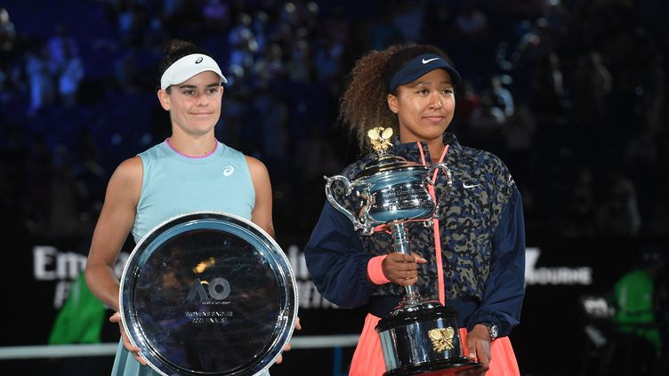 Jennifer Brady jouait sa première finale de Grand Chelem, à Melbourne.  (WILLIAM WEST / AFP)