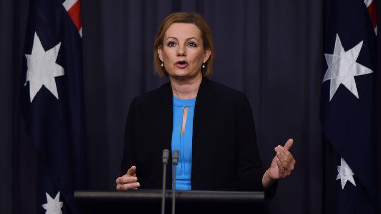 Sussan Ley, ministre de l'Environnement australienne. (LUKAS COCH / EPA/AAP)