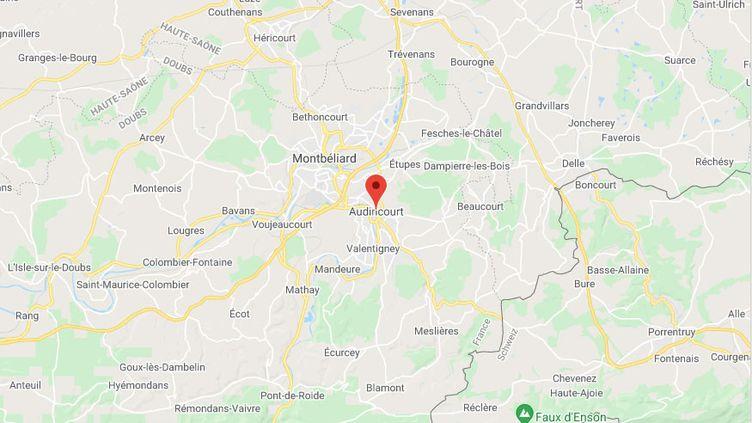 Audincourt (Doubs) (GOOGLE MAPS)